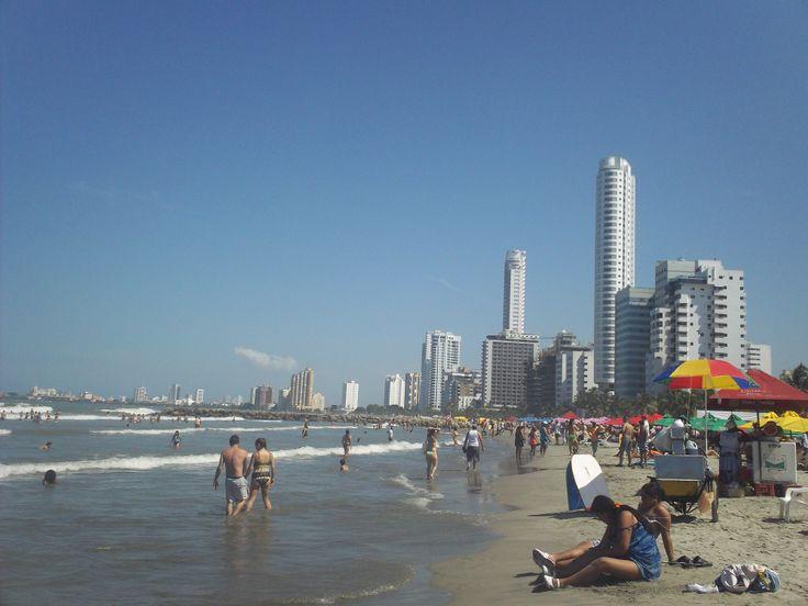 Playa en Cartagena.