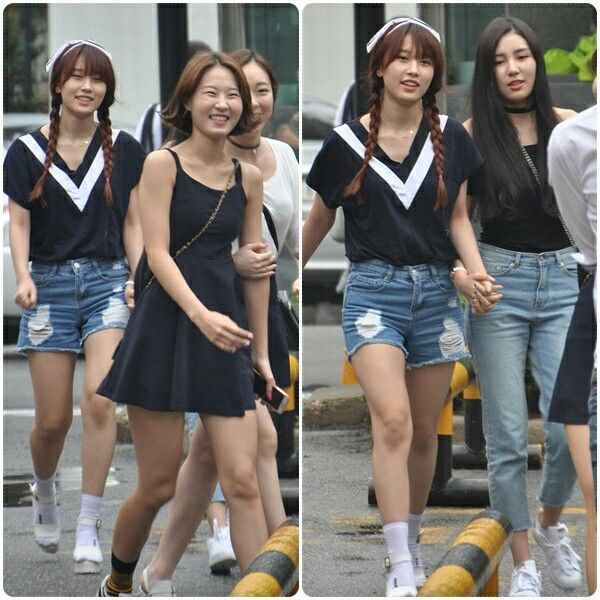 150821 ASHA arriving at Music Bank by @KpopMap #musicbank #kpopmap #kpop #kpopmap_asha #asha #아샤