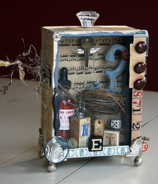 Nest Shadow Box 1 by hesson, via Flickr
