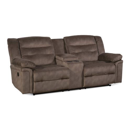 Found it at Wayfair - Serta Upholstery Rifle Double Recliner Loveseat
