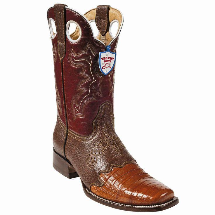 Bota Caiman Panza Horma Rodeo WW-28282