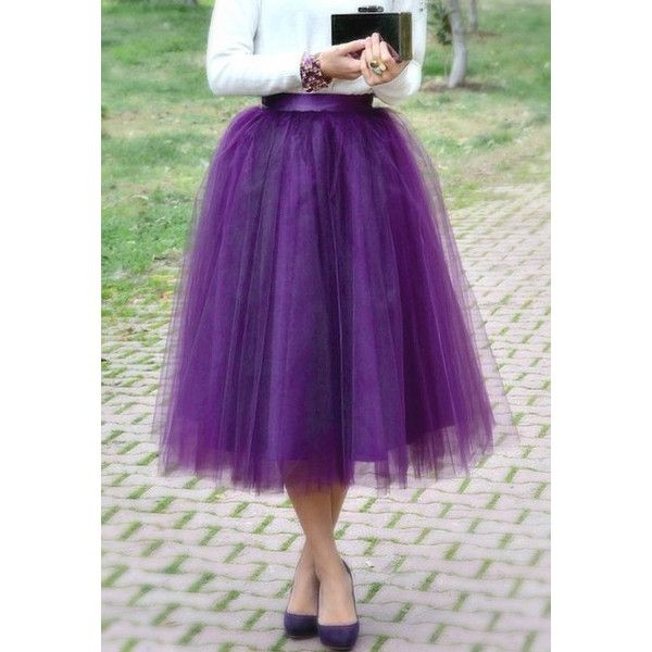 Purple Tulle Tutu Skirt Adult Women (6.265 RUB) ❤ liked on Polyvore featuring silver, skirts and women's clothing