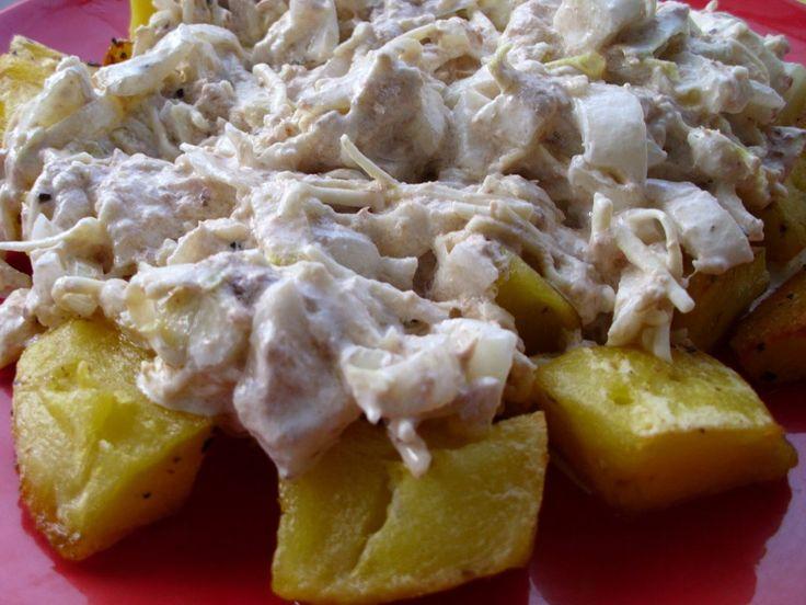 cartofi, ton, andive