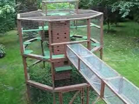 Kitty Castle Outdoor Cat Tree Uk Only