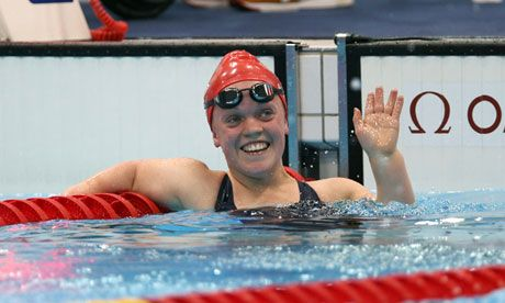 Ellie Simmonds - Paralympic swimmer. Won gold in 2008 and 2012. Youngest member of British team at 2008 games.