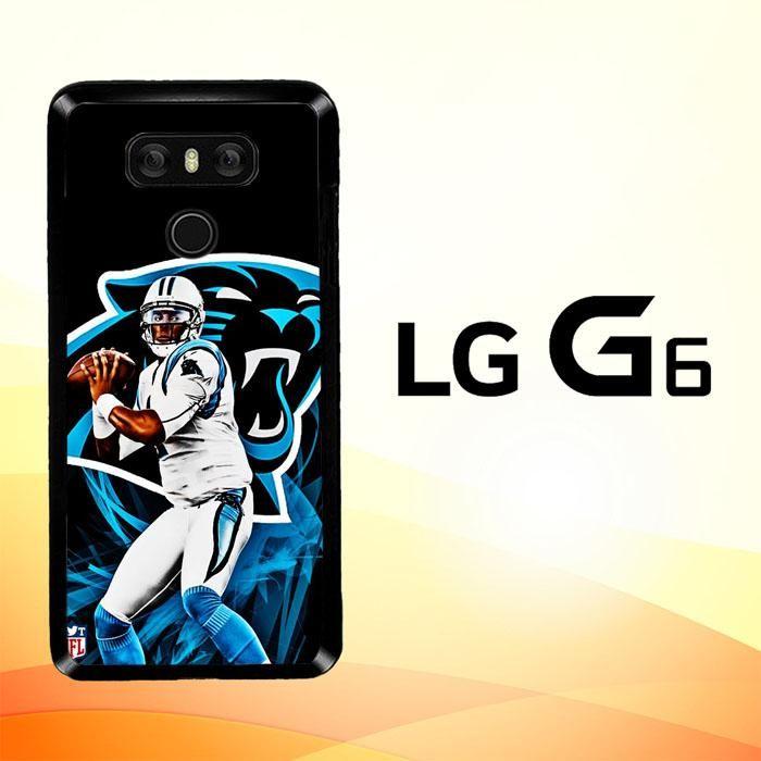 Cam Newton Panthers X4912 LG G6 Case
