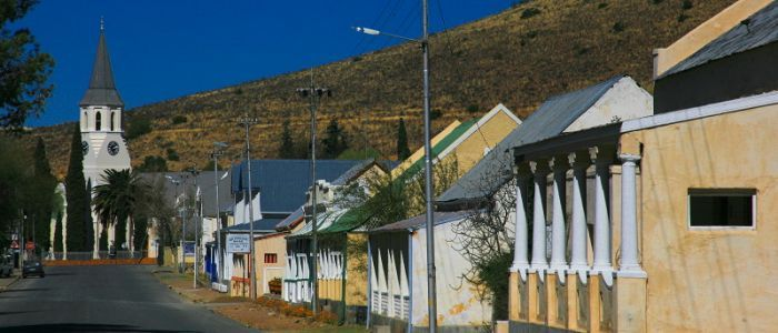 Victoria West in the Northern Cape