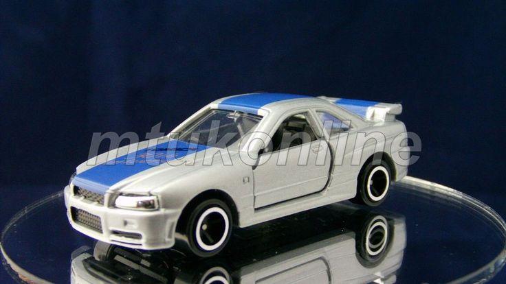 TOMICA 20 NISSAN SKYLINE GT-R R34 | 1/61 | 30TH ANNIVERSARY 2000 NO.3