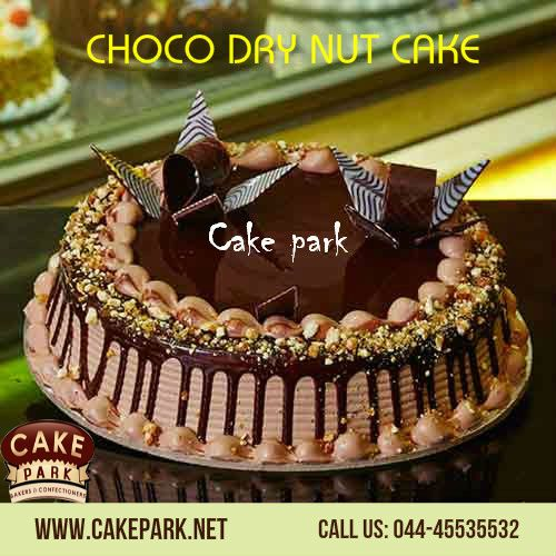 Yummy ‪#‎Delicious‬ ‪#‎Choco‬ ‪#‎Dry‬ ‪#‎Nuts‬ ‪#‎Cake‬ available at #Cake ‪#‎park‬. Searching ‪#‎Online‬ ‪#‎Cakes‬ in ‪#‎Chennai‬?