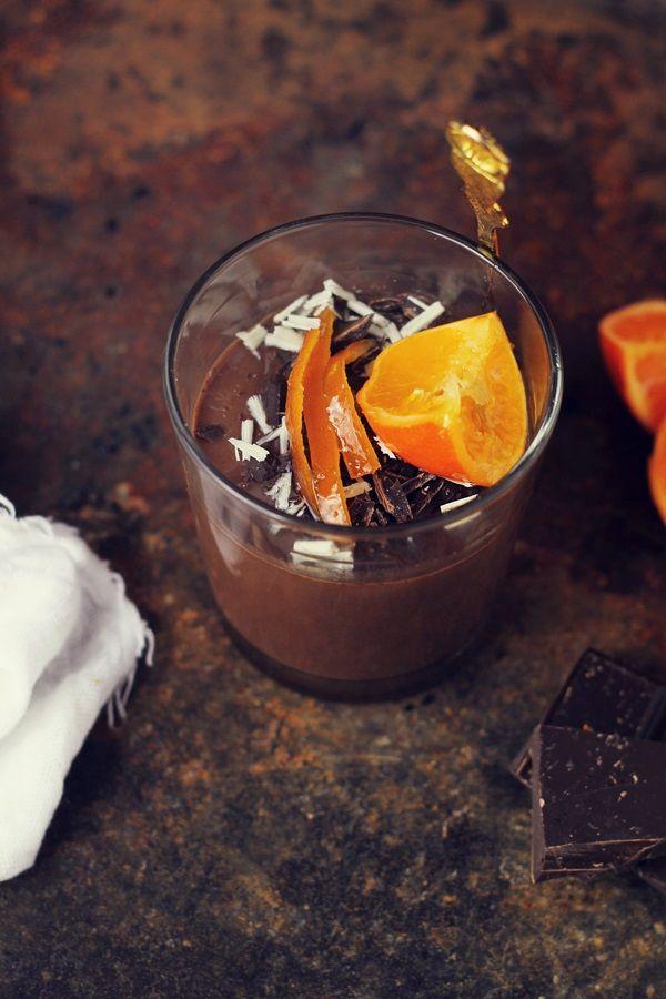 Panna Cotta cu ciocolata | Pasiune pentru bucatarie