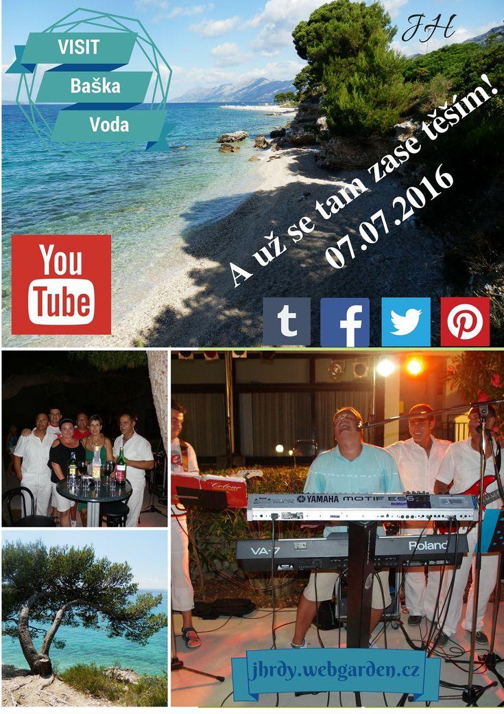 Baška Voda.  Baška Voda, naše ubytování, Vila Borovina. #Baškopolje #BaškaVoda #Makarskariviera #Dalmacia #Dalmatien #JiříHrdý #Adria #Jadran #Croatia #Kroatien #Chorvatsko. Více informací (mehr Infos) na: http://jhrdy.webgarden.cz/rubriky/chorvatsko-2014/nase-plaz-baska-voda-2014, www.youtube.com/...
