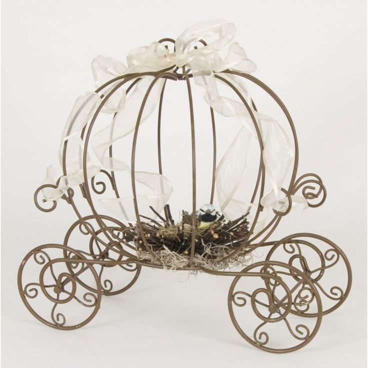 THE ORIGINAL Inspired by Disney Fairytale Wedding Cinderella's Carriage Coah Pumpkin table centerpiece decor.