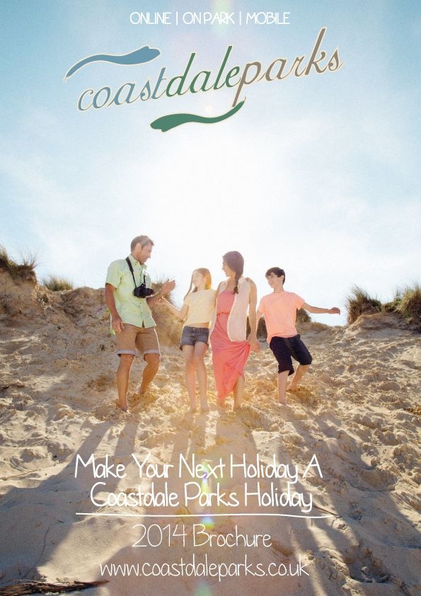 Cover Of Coastdale Parks Holiday Brochure 2014