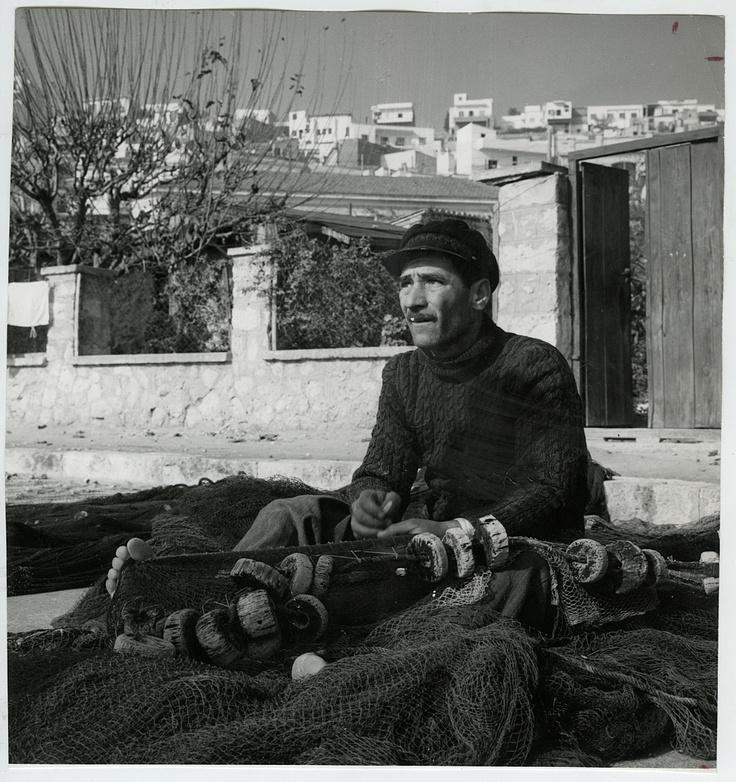Fritz Henle 1964 Greek Fisherman Press Photo