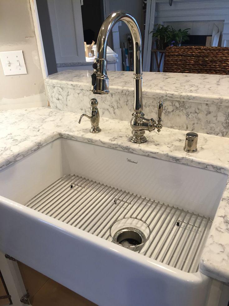 Kohler Artifacts Faucet w/ Whitehaus Farmhouse Sink