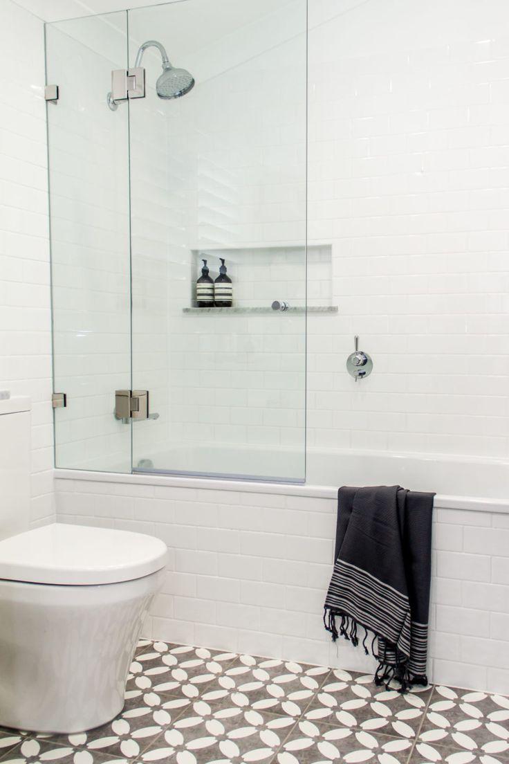 Real Reno: stylish inner city bathroom reno