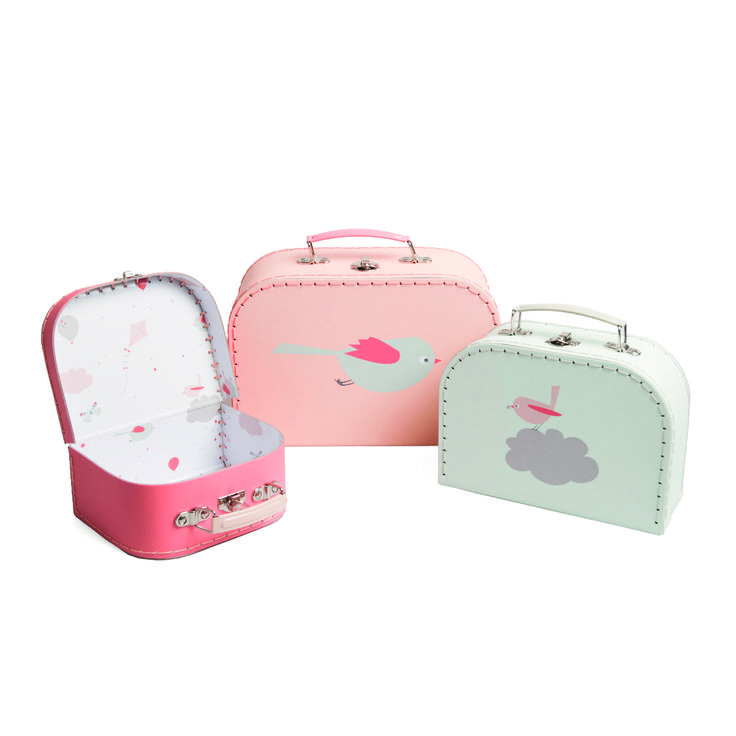 #kid #suitcase | Dille & Kamille