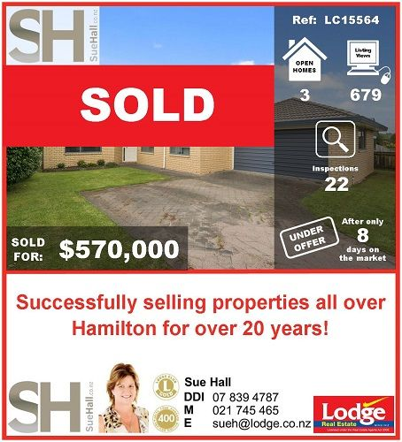 Fantastic Result ... Under contract within 8 days!  78 Radiata Street has now SOLD!!! A huge congratulations to both my sellers and my buyers!