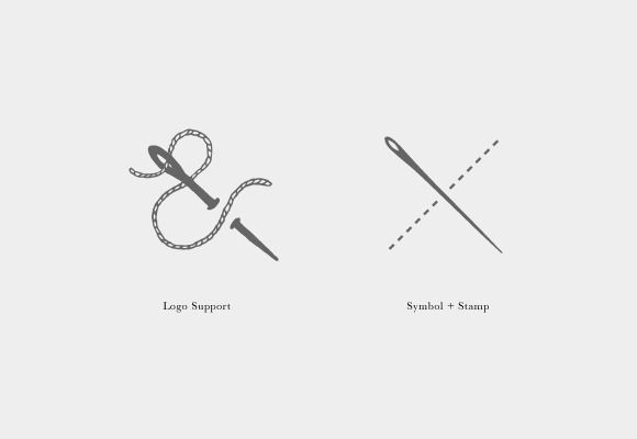 Sew And Needle   Corporate Identity on Behance