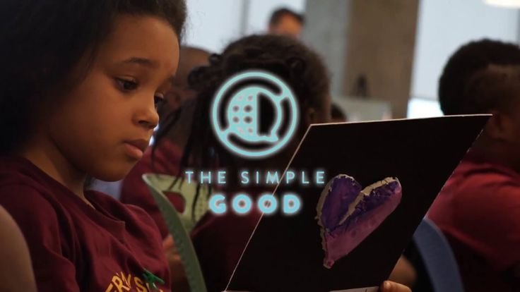 TSG Students from #Chicago share their meaning of 'the simple good' with us.  Our mission is to connect the meaning of good from around the world to empower at risk youth to become positive activists through art and discussion.   TGS's program engages our youth through the creative process which helps them enhance:  Cognitive development skills Communication and interpersonal skills, personal empowerment and connectivity to communities to allow a greater sense of the world around them.