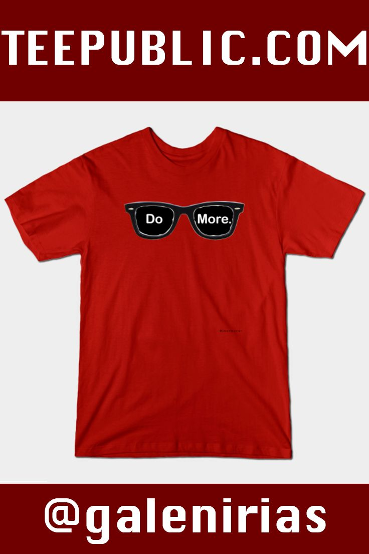 """Week #1 Shirt Sunday: This shirt is inspired by the legendary Casey Neistat! His iconic glasses and tattoo """"Do more"""" have become a staple of fans of his work. #CaseyNeistat #vlogger #youtuber #filmmaker #youtube #beme #casey #neistat #vlog #vlogs #NYC #NewYorkCity #NewYork"""