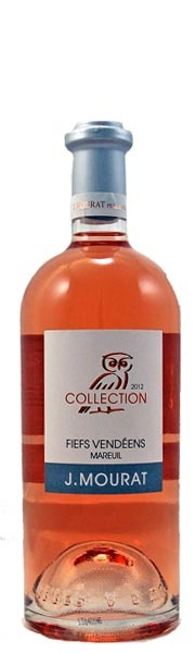 Jérémie Mourat's exceptional rose from the Vendee - clean, dry and very Provençal in style.