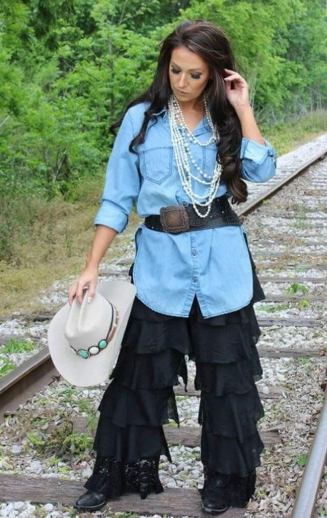 Dress To Impress Denim Tunic Top - Also in Plus Size