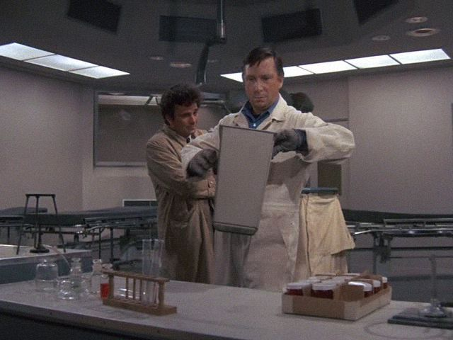 Columbo, Lovely But Lethal Season 3 Episode 1, Episode aired 23 September 1973, Peter Falk, Bruce Kirby
