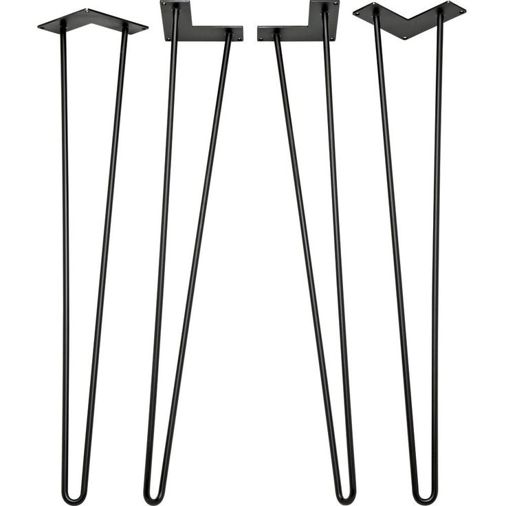 28 in I-Semble™ Hairpin Table Legs, 4-Pack - - Amazon.com