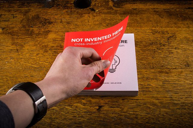 Not Invented Here: feel the book