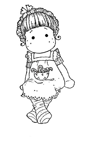magnolia stamps coloring pages - photo#45