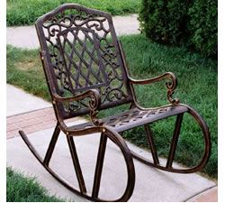 Oakland Living   Mississippi Rocking Chair80 best Wrought Iron Chair images on Pinterest   Wrought iron  . Oakland Living Mississippi Patio Rocking Chair. Home Design Ideas