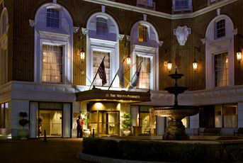 The Westin Poinsett, Greenville, SC- This is where we stayed on our wedding night. We love the history of these hotels. #windows