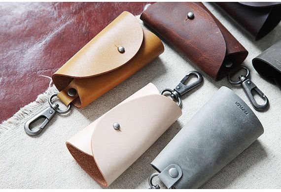 Leather Key Holder Simple Designed Key Bag by minimalistgoods