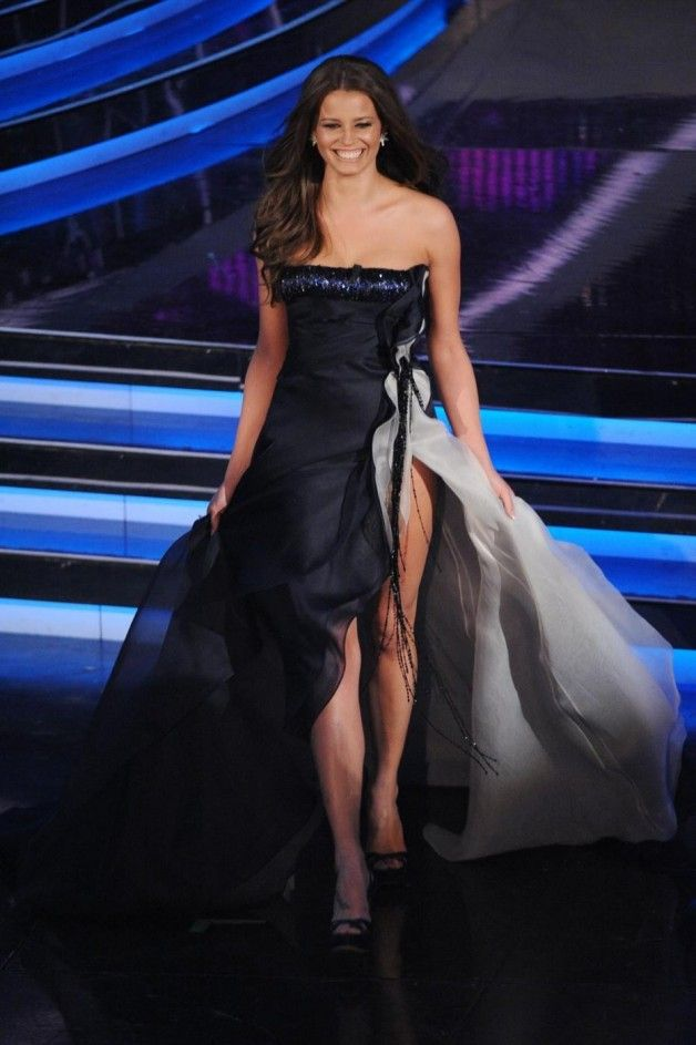 Sanremo 2012 Ivana Mrazova, Salvatore Ferragamo