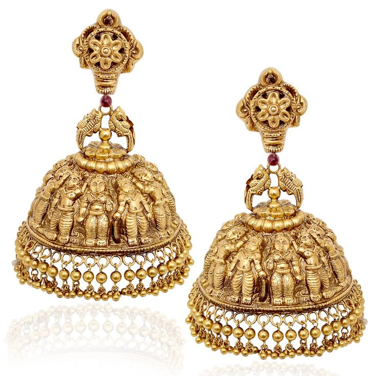 Dasavatra earrings #India #Temple #Jewellery