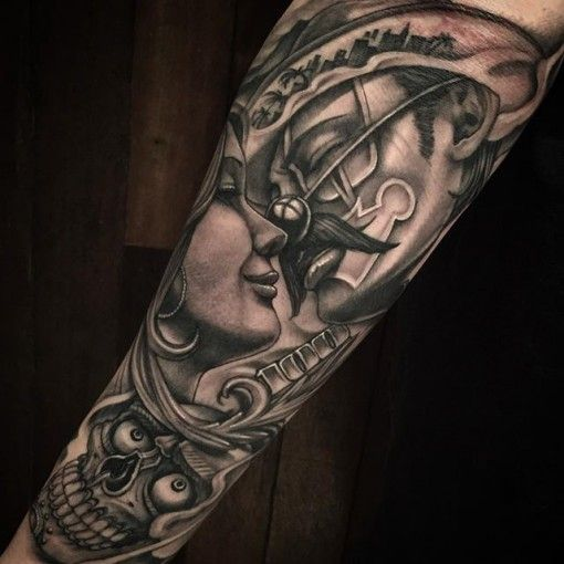 Chicano Sleeve Tattoos Related Keywords & Suggestions - Chicano Sleeve ...
