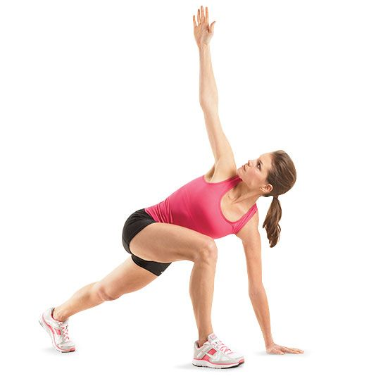 If you want to get fit, you can't skimp on stretching