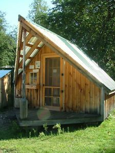 Diy plans 12x14 writer 39 s haven cottage tiny house for Writers retreat cabin