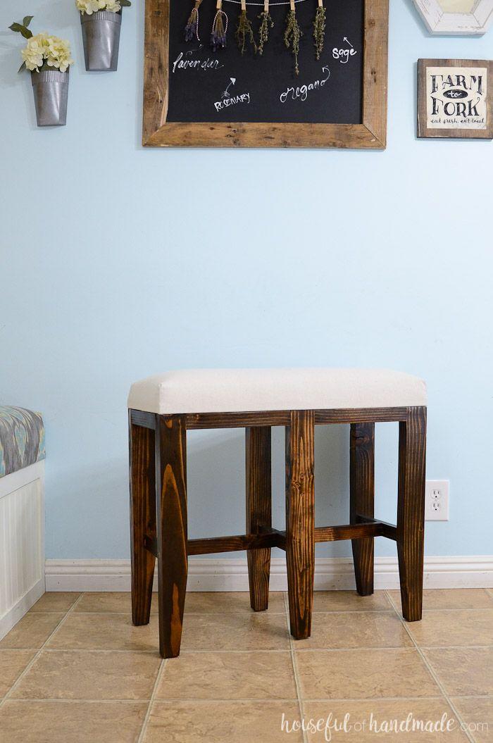Upholstered Barstool Benches Diy Diy Bar Stools Diy Bench