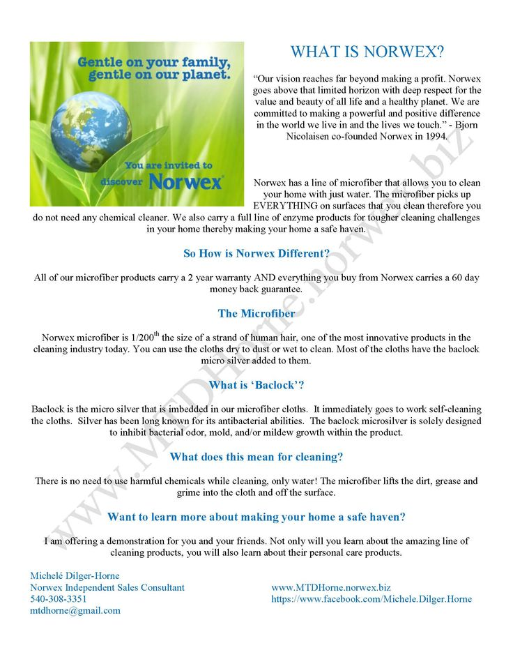 What Is Norwex Www Mtdhorne Norwex Biz Norwex Norwex