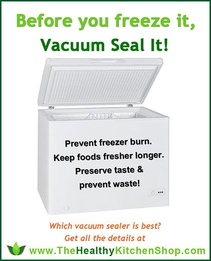 Before you freeze it, vacuum seal it! http://www.thehealthykitchenshop.com