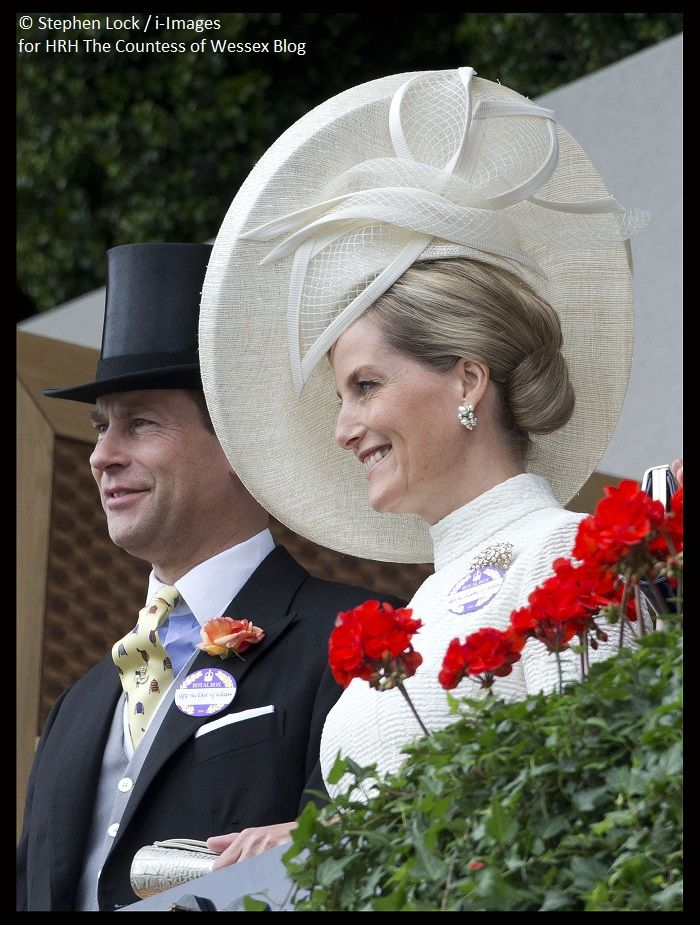 Prince Edward and Sophie Countess of Wessex - Royal Ascot 2015