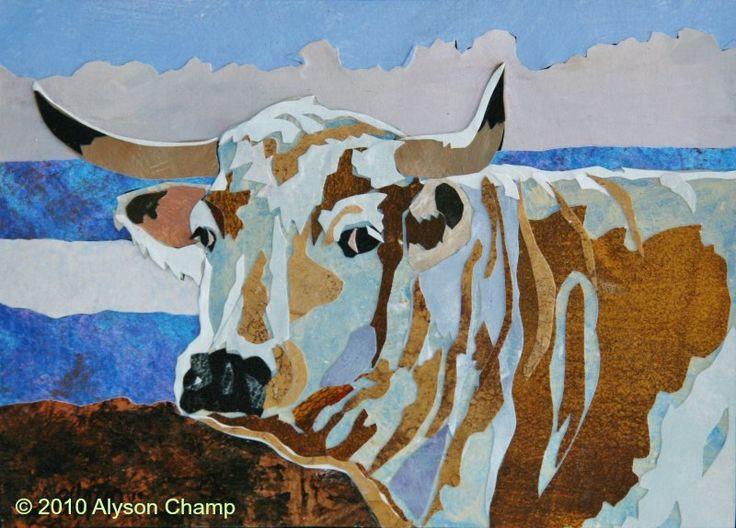 White Park Cow