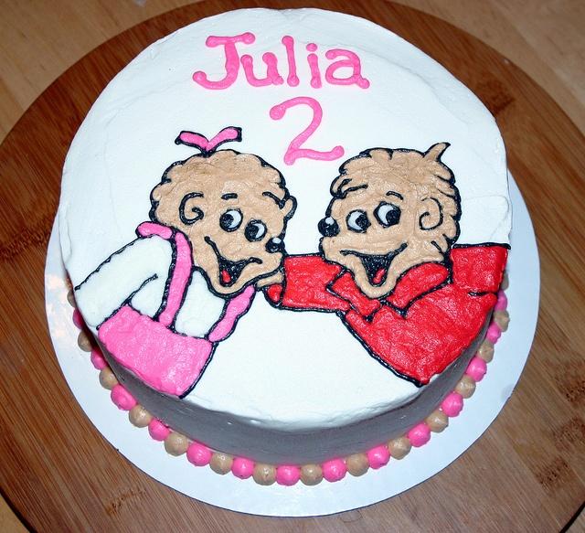 berenstein bears cake! Will someone make for my next birthday?