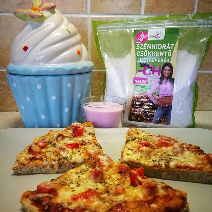Diétás, szénhidrátmentes paleo pizza recept (gluténmentes, maglisztmentes, keményítőmentes paleo) ~ Éhezésmentes Karcsúság Szafival