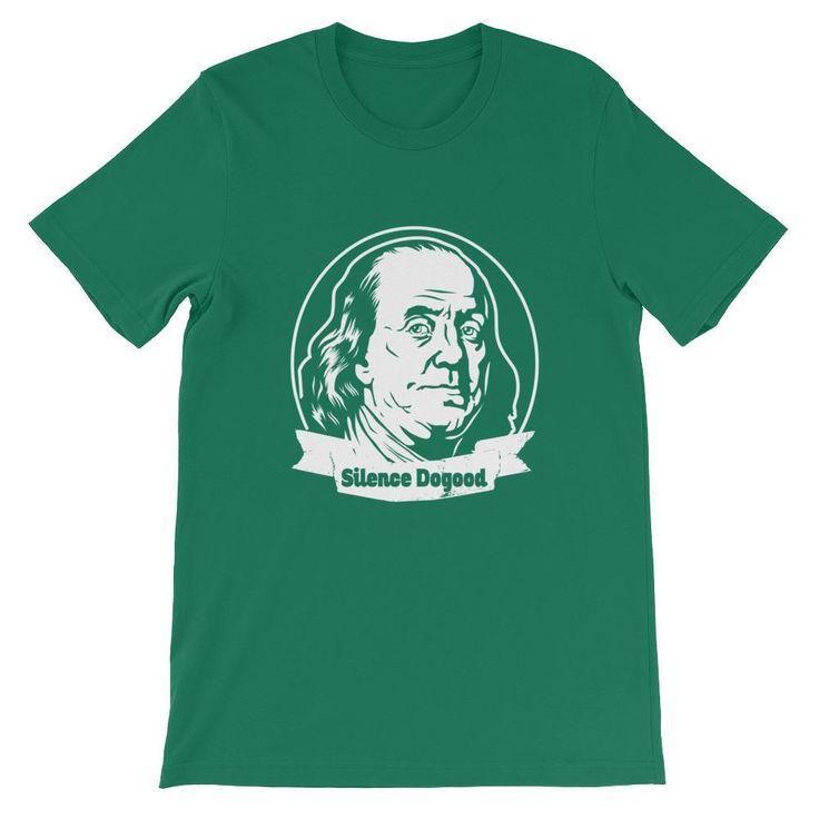Benjamin Franklin, Silence Dogood Unisex T-Shirt