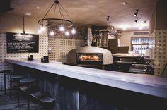 homeslice pizza, wood fire oven