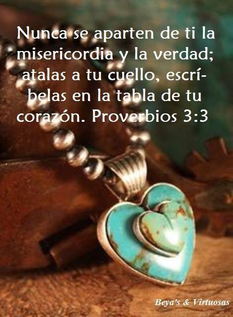 Piensa en la forma como Dios actua contigo con misericordia y verdad para no herir a los demás.