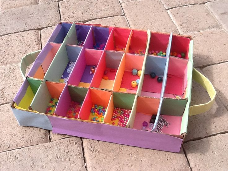 made this easy diy bead organizer d all you need is some